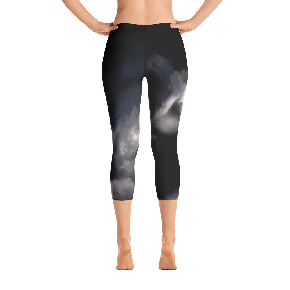 """Sky is the limit"" Capri Leggings"