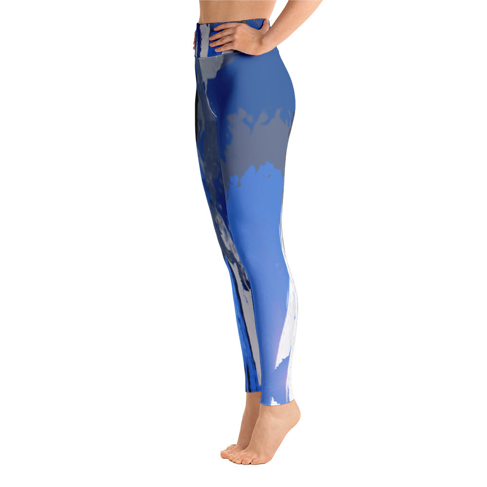 """I am the storm"" high waist Leggings"