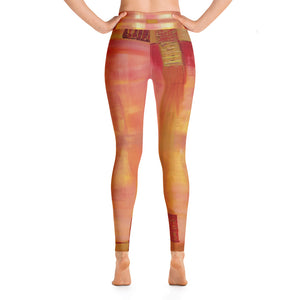 """Open window"" high waist Leggings"