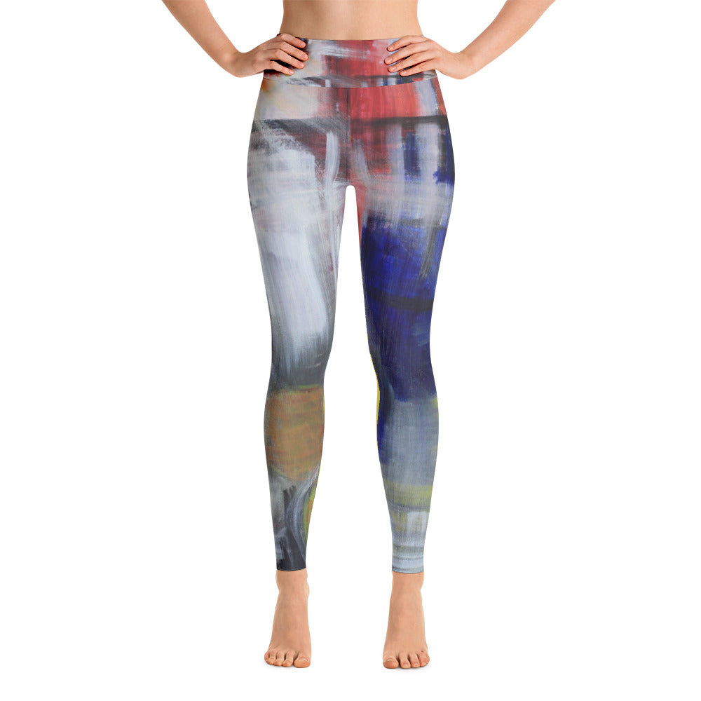 """Begging"" high waist Leggings"