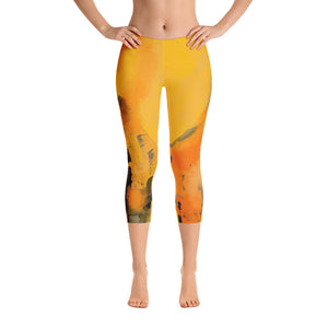 """I am the sun"" Capri Leggings"