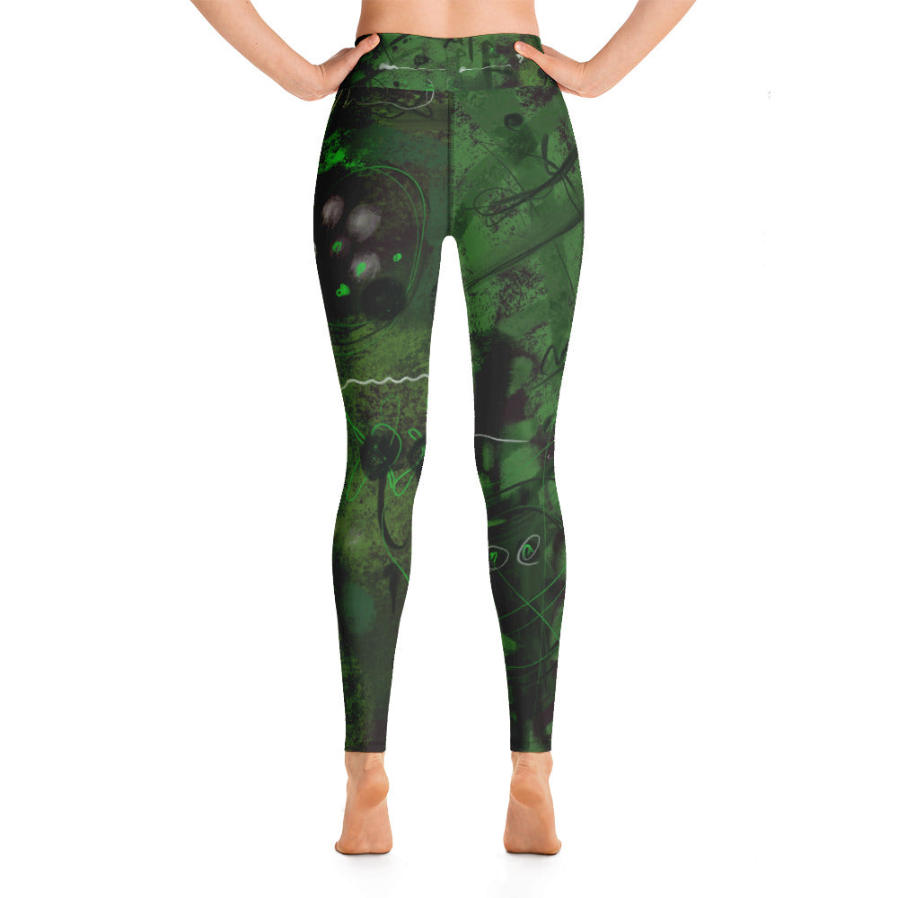"""Tree of your life"" High Waist  Leggings"