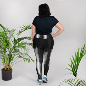 """More than you know"" Print Plus Size Leggings"