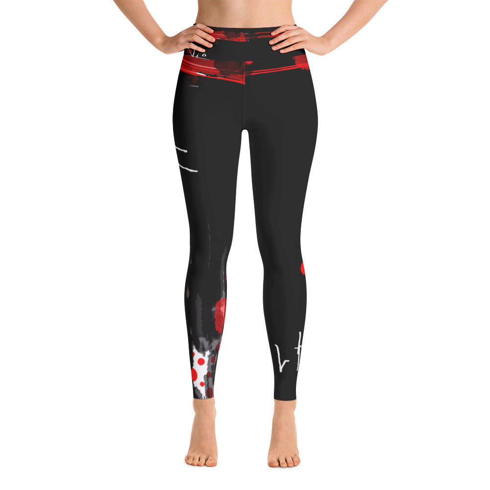 """Love for love"" High waist Leggings"