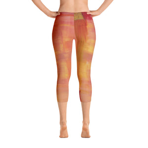 """Open window"" Capri Leggings"