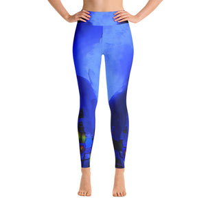 """Beneath the walls"" High waist  Leggings"