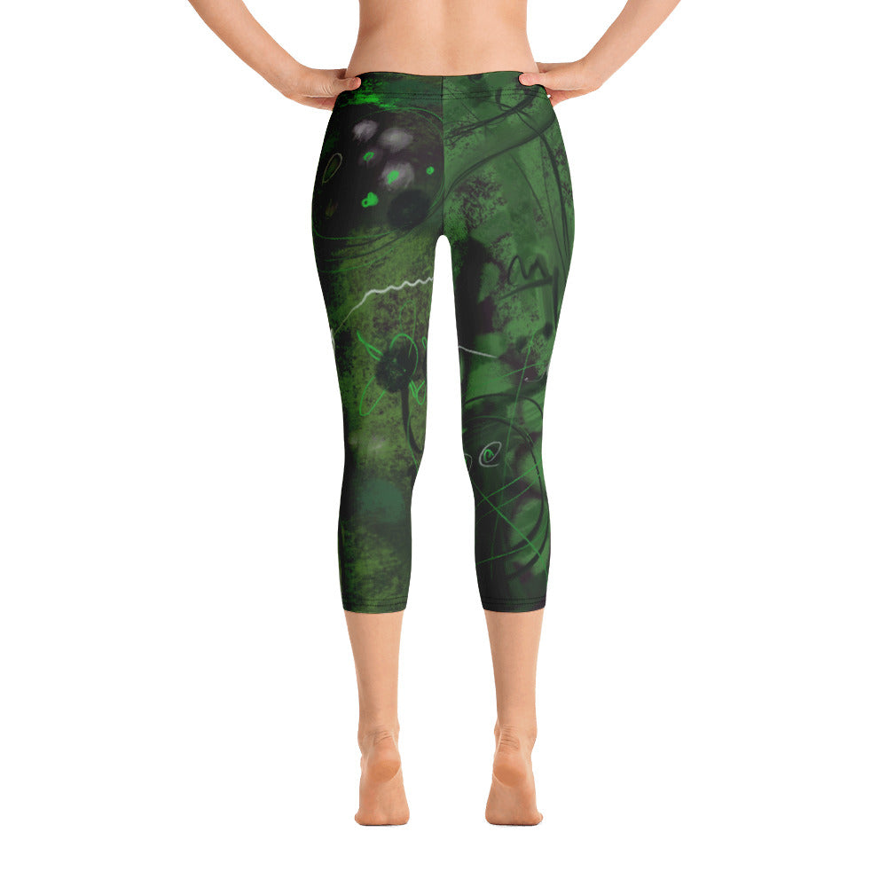 """Tree of your life"" Capri Leggings"
