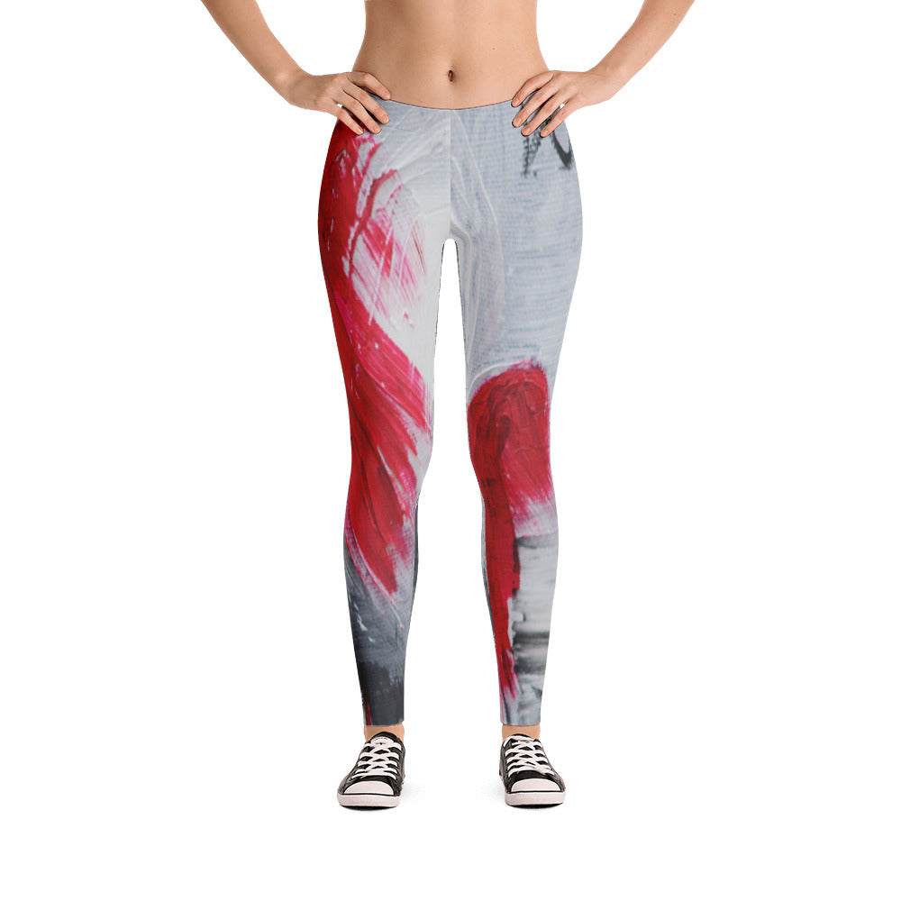 """Remember love"" low waist Leggings"