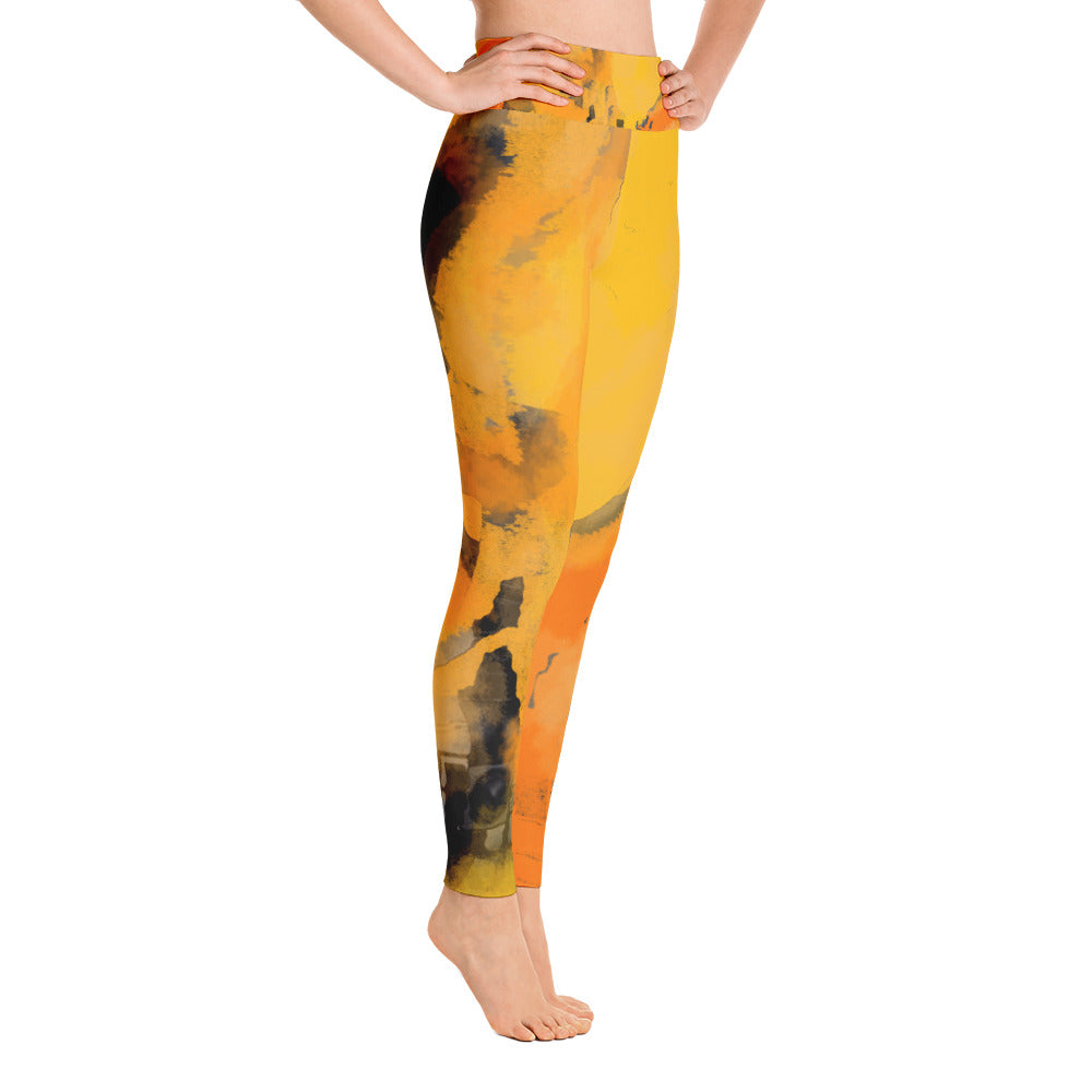 """I am the sun"" high waist Leggings"