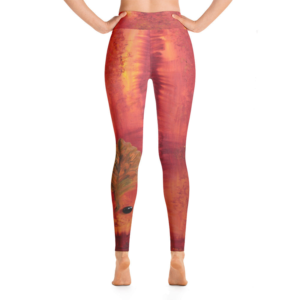 """Autumn"" high waist Leggings"