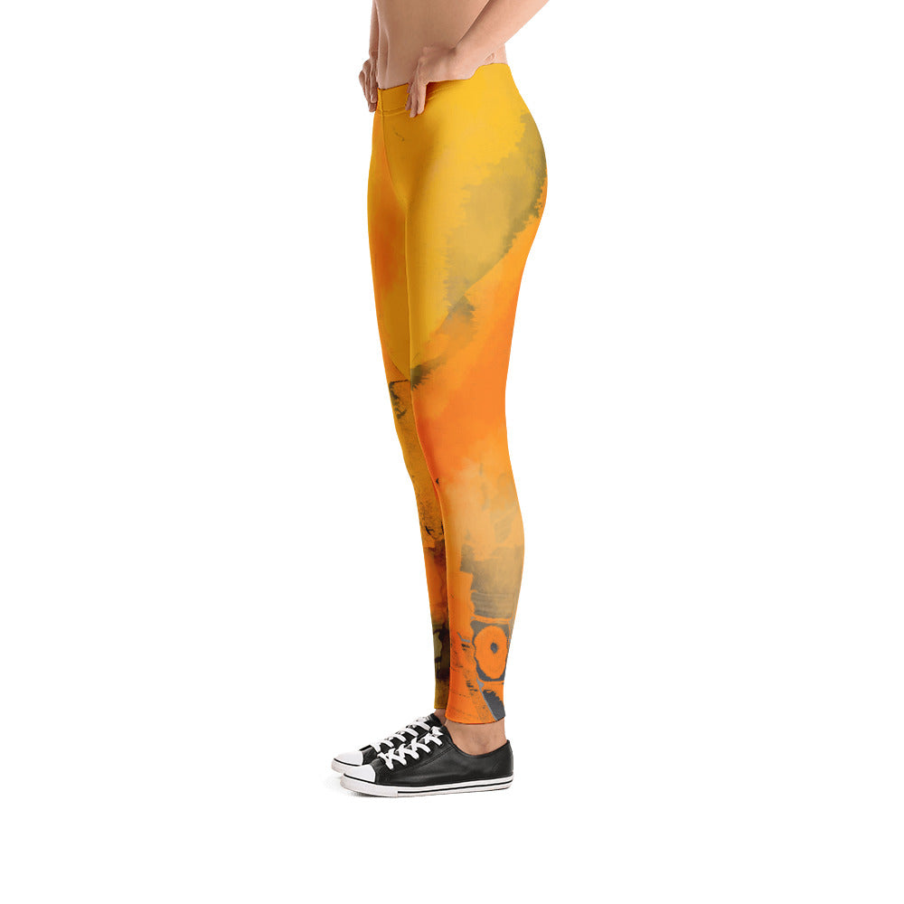 """I am the sun"" low waist Leggings"