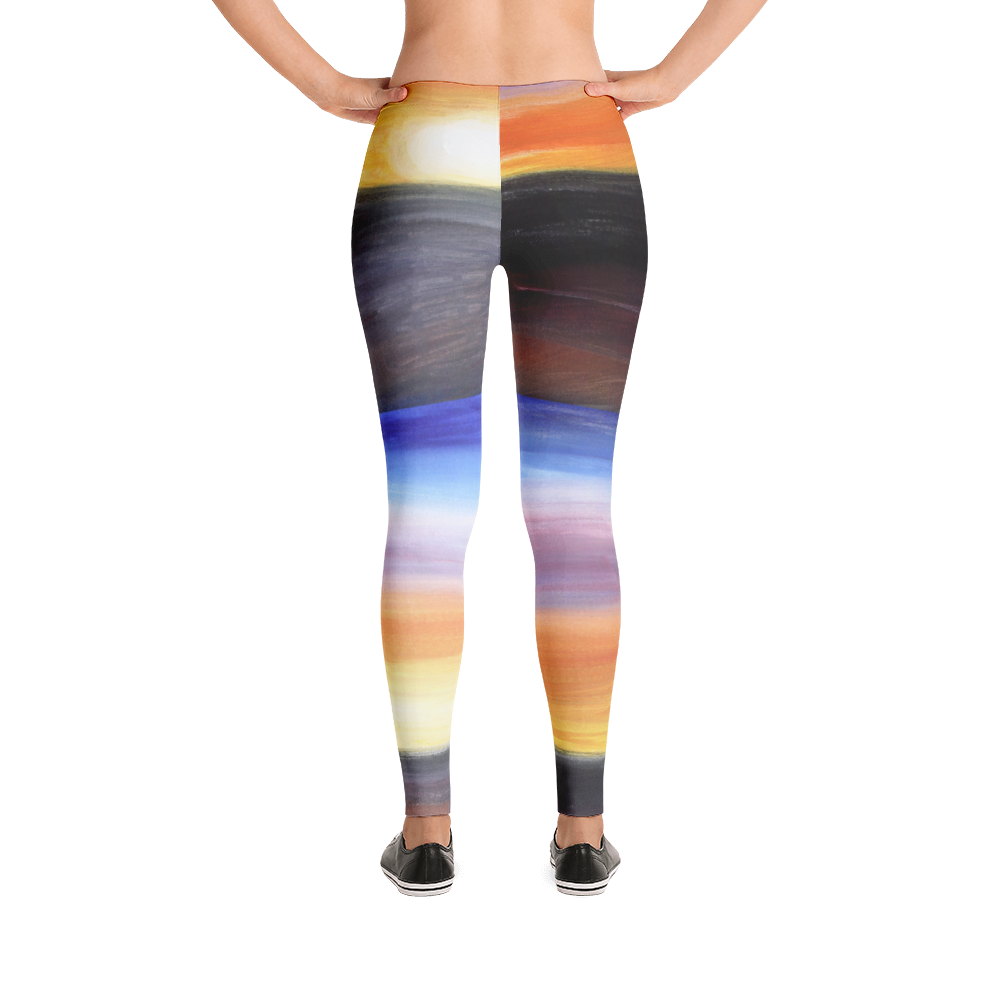 """Rainbow"" low waist leggings"
