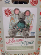 Crafty Crochet Kit: Blossom Mouse