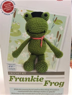 Crafty Crochet Kit: Frankie Frog