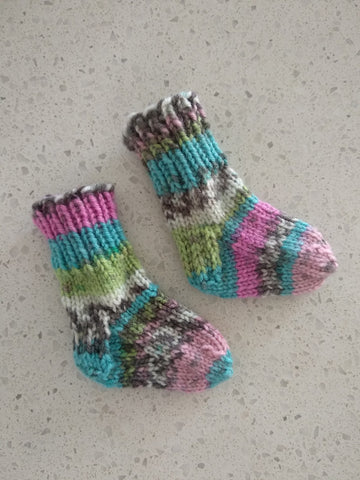 Beginning-to-End Sock Class