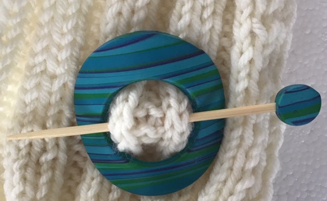 Make Your Own Shawl Pin Class