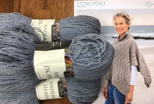 Stone Point Kit in Andean DK