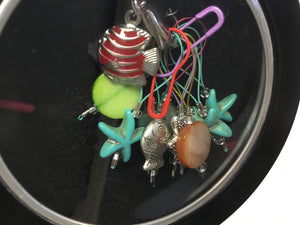 Kifaijazer Stitch Markers in Tin