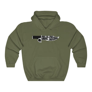 "The Guide to Fast Living ""Knife"" Hooded Sweatshirt"