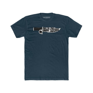 "The Guide to Fast Living ""Knife"" Men's T-Shirt - Dark Colors"