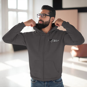 "The Guide to Fast Living ""Knife"" Zip Hoodie"
