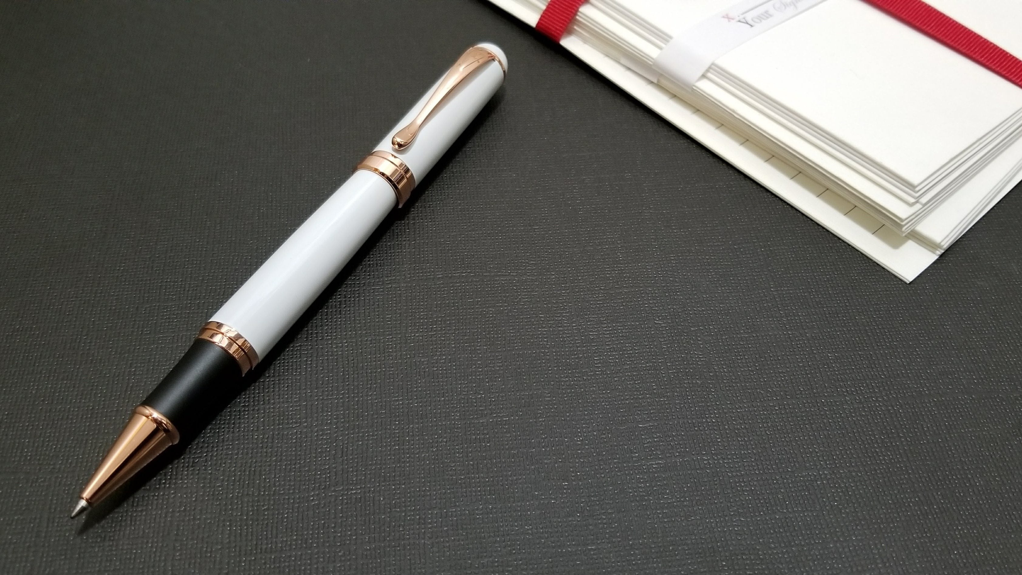 Elite Edition Luxury Pen - Arctic White - Free Shipping
