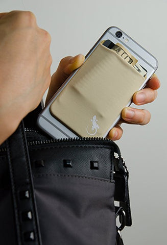 Stretchy Sticky On Phone Wallet