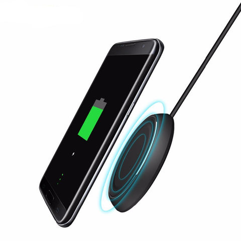 Qi Wireless Fast Charging Disk for All Qi-Enabled Devices