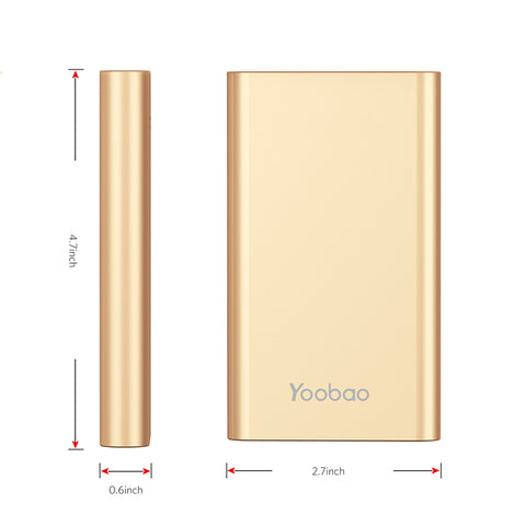 Slim Portable Power Bank (2-3 charges)