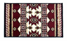Geometric Thin Door Mat Entry Rug - Geometric Accent - The White Rose USA