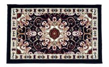 "Turkish Rugs Small - Outdoor Indoor Usage (20"" x 31"") - Home, Dorm, Office, Shop - The White Rose USA"