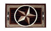 Geometric Thin Door Mat Entry Rug - Rising Star - The White Rose USA