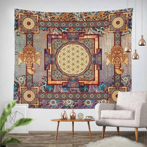 Indian Wall Hanging Hippie Tapestry