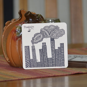 Banjaran Art Custom Coasters for Coffee Mugs and Cups