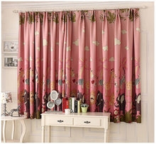 Cartoon Forest Animal Paradise Blackout Window Curtains