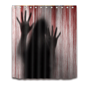 Witch Hand-prints Shadow Halloween Shower Curtain