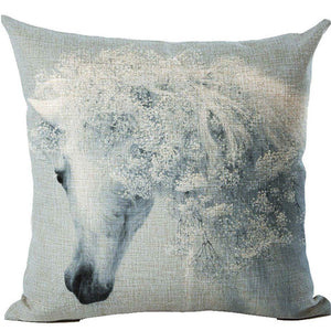 Modern Animal Cushion Cover - The White Rose USA
