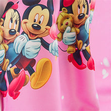 Close up view of Minnie Mouse Curtain design