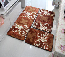 Trendy Designer Bath Rugs | Mats - 3 pc set - The White Rose USA