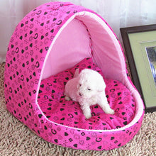 Hot Sale Princess Dog Bed Small Warm Cat House Slippers Pet Detachable Washable Cushion Dog Beds For Large Dogs Puppy Rabbits