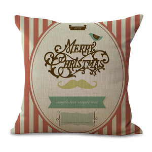 Christmas Pillow Cases and Cushion Covers - Rookie Greeting
