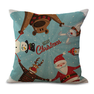 Christmas Pillow Cases and Cushion Covers - Greeting Friends