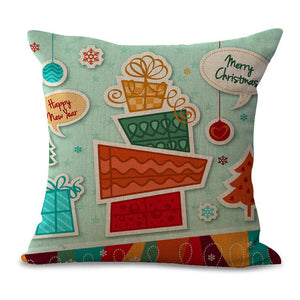 Christmas Pillow Cases and Cushion Covers - Gifts