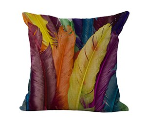 Color Explosion Throw Cushion Cover - Objects