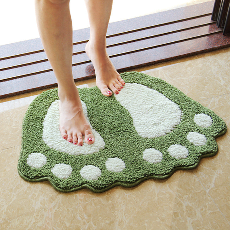 Gorilla Footprint Bath Mat Or Bath Rug Thewhiteroseusa