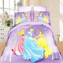 Disney Snow White Princess Girls Bedding Set Duvet Cover Bed Sheet Pillow Cases