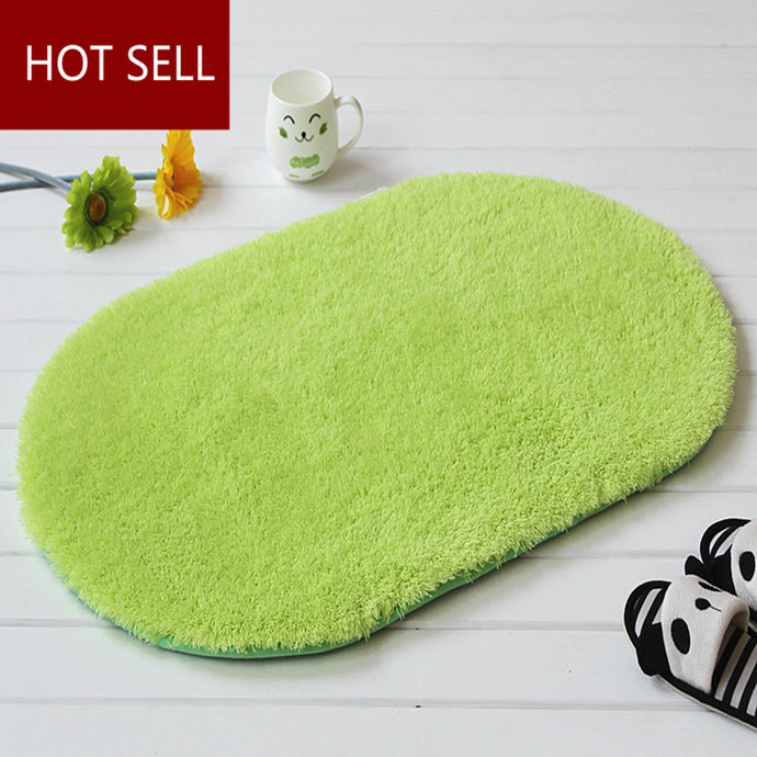 Anti-slip PVC Backed Bath Mat
