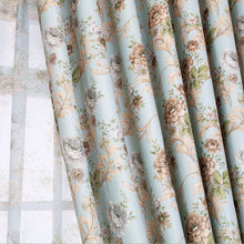 Peony Jacquard Window and Door Curtains
