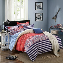 Modern Stripes Duvet Cover Bedding Set