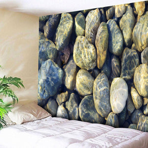 Cobblestone Tapestry for Wall Hanging | Bed Sheet | Yoga Sheet | Entrance Decor